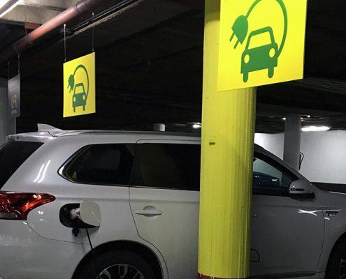 Recarga eléctrica de coches
